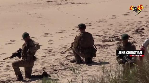 Rysslands intresse för militärövningen i Skåne