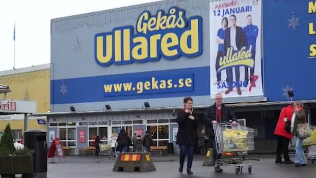 Barnvagnsligans kupp på Gekås i Ullared