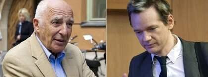Våldtäktsmisstänkte Wikileaksgrundaren Julian Assange är inte nöjd med sin advokat Leif Silbersky och begär att få byta ut honom. Foto: Stefan Söderström
