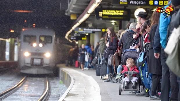 Stora förseningar i tågtrafiken – flera sträckor drabbade