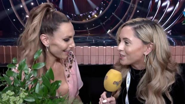 """Melodifestivalens Lina Hedlund: """"Jag vill börja gråta"""""""