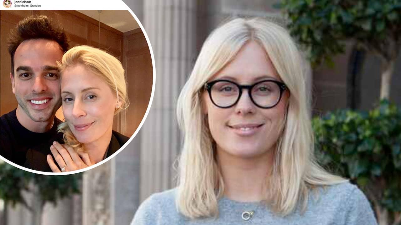 Jennie Hammar om livet som singel efter Filip Hammar