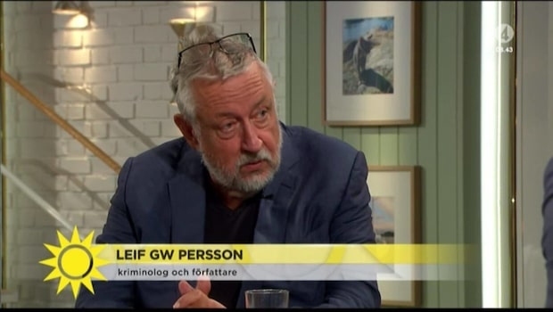 """GW Persson: """"Utgör mindre än 1 procent av dödligt våld"""""""