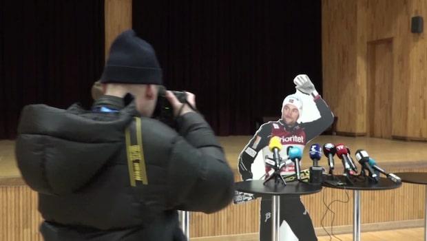 Kuppen mot Norge: Northug dyker upp i OS
