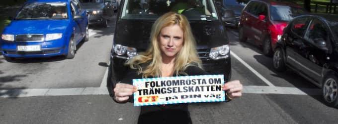 FOLKOMRöSTA NU! GT:s chefredaktör Frida Boisen visar sitt engagemang för din rätt att folkomrösta. Foto: Jan Wiriden
