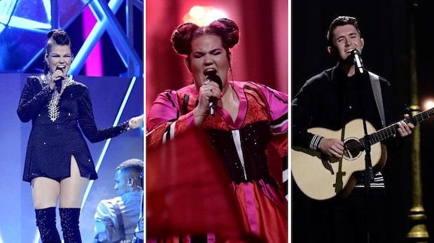 Ett kul kackel utan dess like i Eurovision