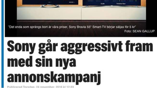 Flertal bluffartiklar, som ser ut att ha Expressen som avsändare, har spridits på nätet. Foto: Skärmdump