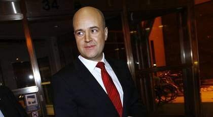 Fredrik Reinfeldt och hans moderater får 36,4 procent i veckans EU-valsmätning. Det är en uppgång med fem procentenheter för partiet sedan förra veckan - och en fördubbling jämfört med resultatet i det förra EU-valet 2004. Foto: Sven Lindwall