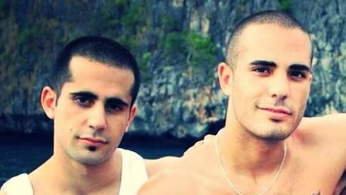 Mark och Martin Saliba dömdes på fredagen till livstids fängelse för trippelmordet. Foto: Privat