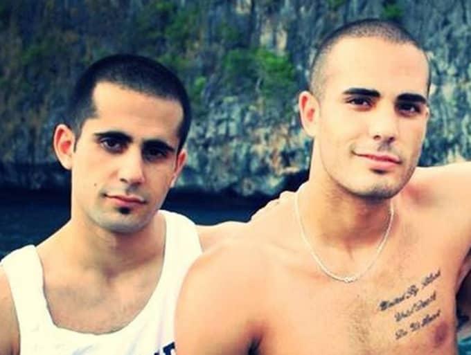 Mark och Martin Saliba.