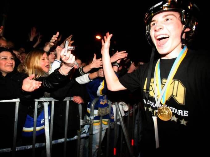 Han hann även bli guldhjälte innan sitt avsked. Foto: Lars Andersson