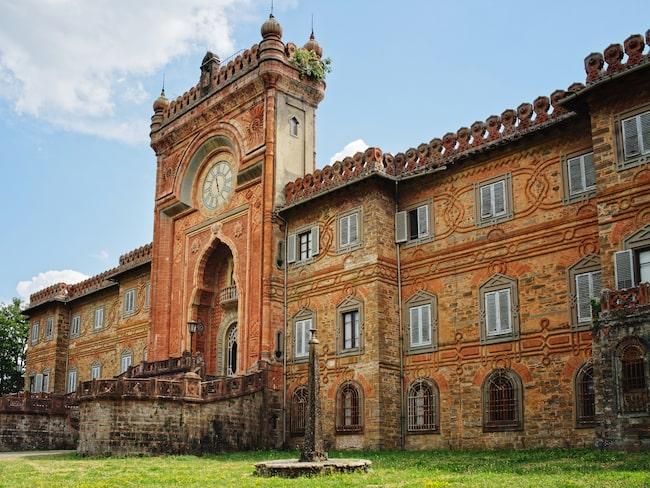 Castello Sammezzano i Italien – lika mycket slott som hotell. Och helt öde.