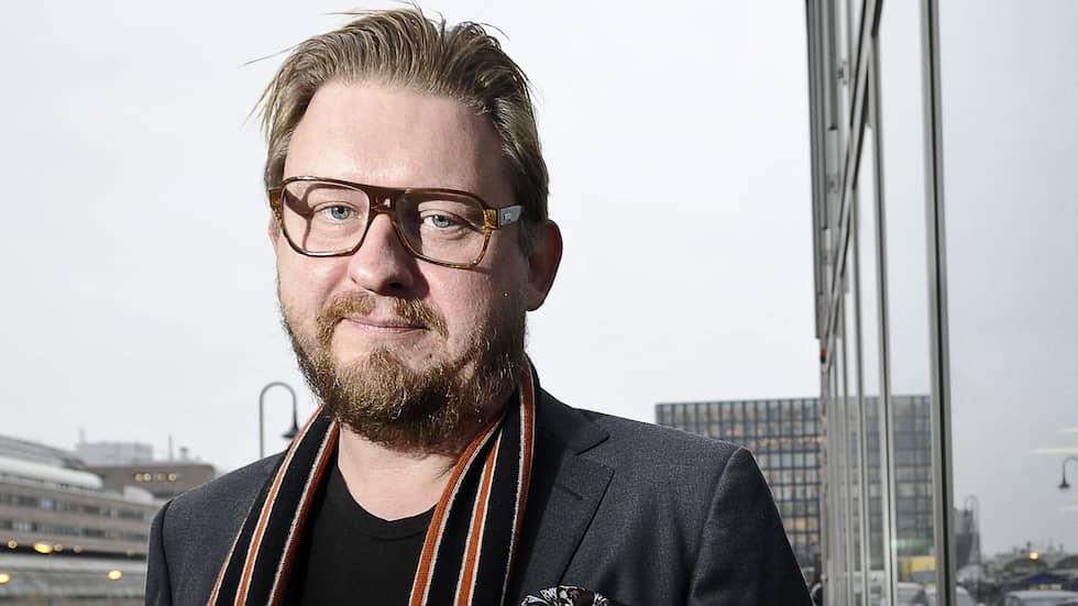 Journalisten och kolumnisten Fredrik Virtanen anklagas för att ha begått sexövergrepp. Virtanen nekar själv till anklagelserna. Foto: ANDERS WIKLUND / TT