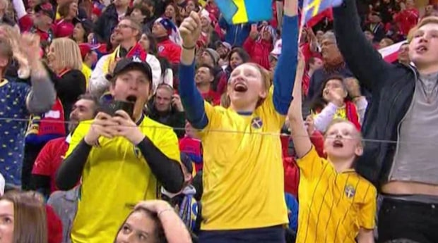 Höjdpunkter: Sverige-Chile