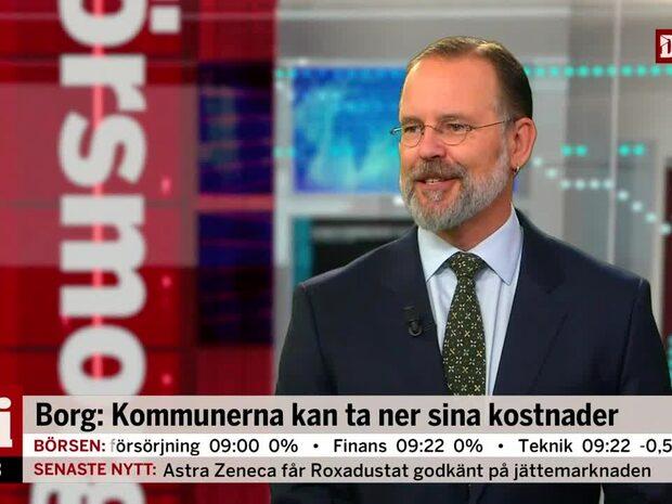 Borg: Blir ingen 2008-kris när det vänder