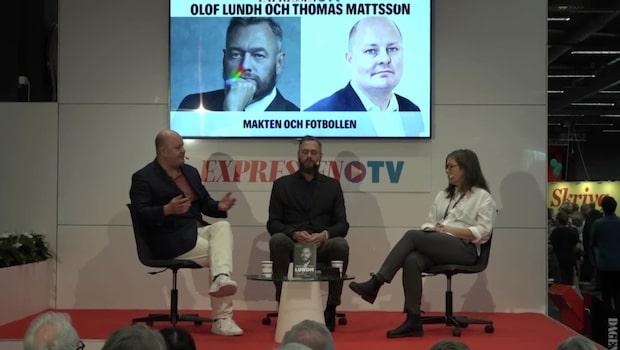"""""""Makten och fotbollen"""" på bokmäsan i Göteborg"""
