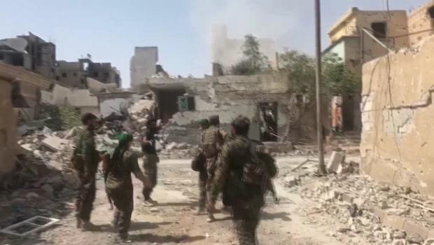 IS försöker skrämmas med manskörer