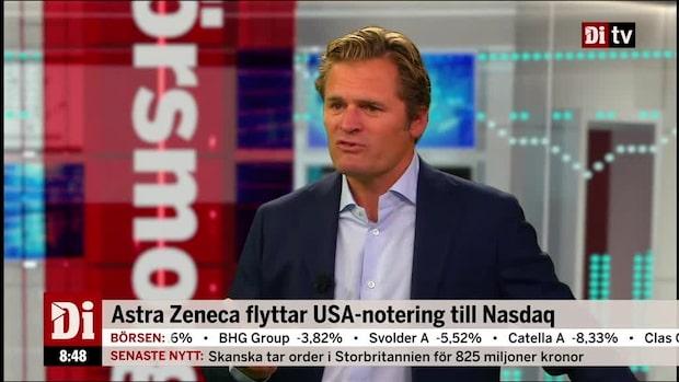 Astra Zeneca flyttar USA-notering till Nasdaq
