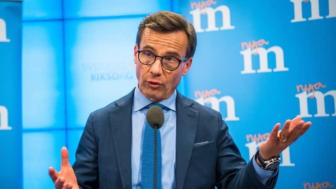 Ulf Kristersson ser ut att bli ny M-ledare. Foto: (C) PELLE T NILSSON / (C) PELLE T NILSSON/STELLA PICTU STELLA PICTURES