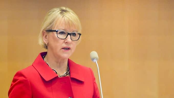 Utrikesministern är inte utrustad med någon diplomatisk ådra. Foto: JONAS EKSTRÖMER/TT
