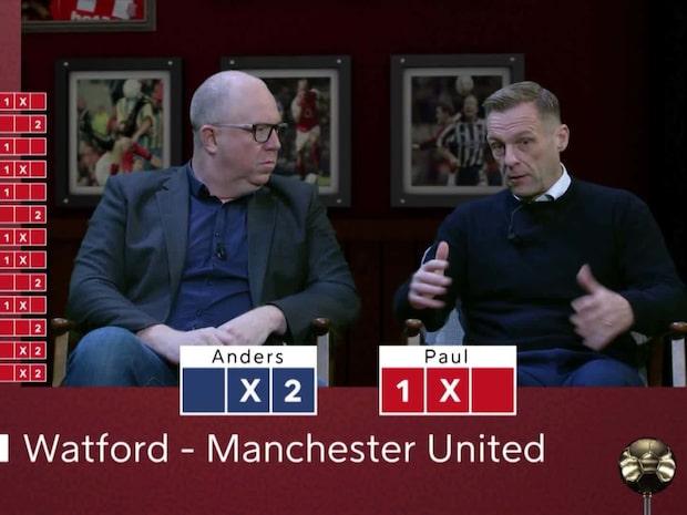 """Lucky XIII: """"Watford kan mycket väl vinna mot United"""""""