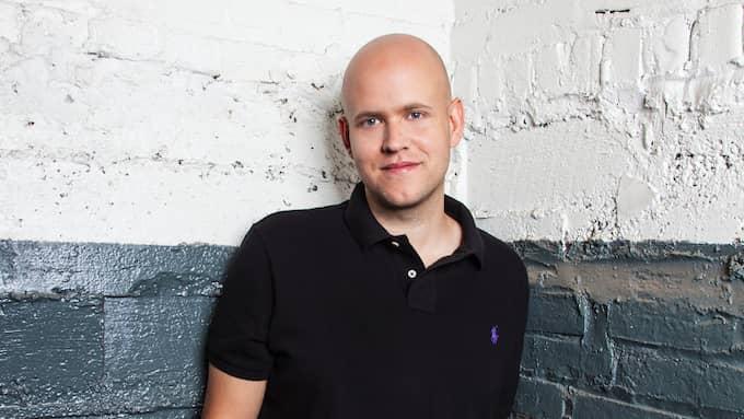 Spotifygrundaren Daniel Ek. Foto: SPOTIFY / TT NYHETSBYRÅN