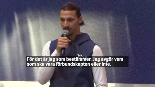 """Zlatan: """"Ingen press på Sverige när inte jag är med"""""""