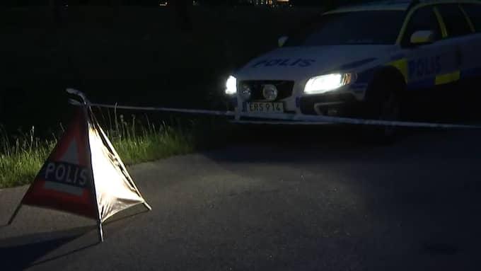 Två personer dödades. Foto: Gustav Sveidquist