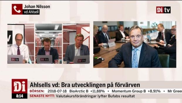 Ahlsells vd: Bra utveckling på förvärven