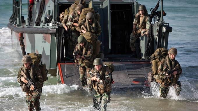 Nato-trupper övar. Foto: ROMAN RIOS / EPA / TT / EPA TT NYHETSBYRÅN