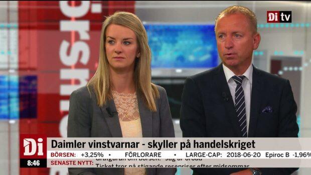 Jonas Olavi, allokeringschef på Alfred Berg, om handelsoron