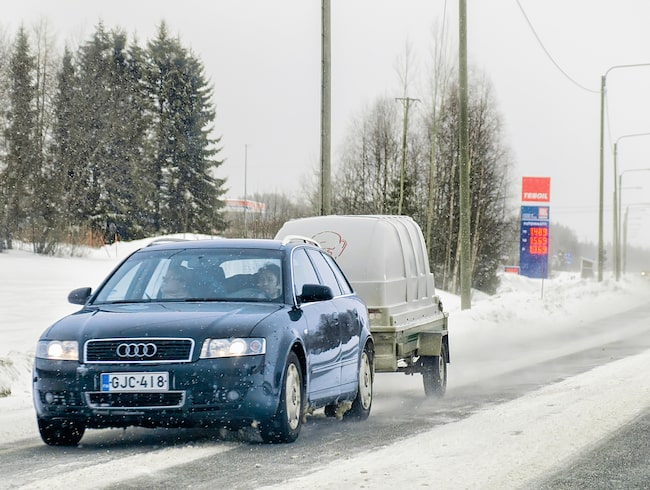 Den nordiska vintern innebär inte att du behöver sluta använda släpvagn – men det finns viktiga saker att tänka på.