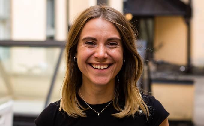 """Antonia Simon, ordförande på """"Mensen – forum för menstruation"""". Foto: Privat"""