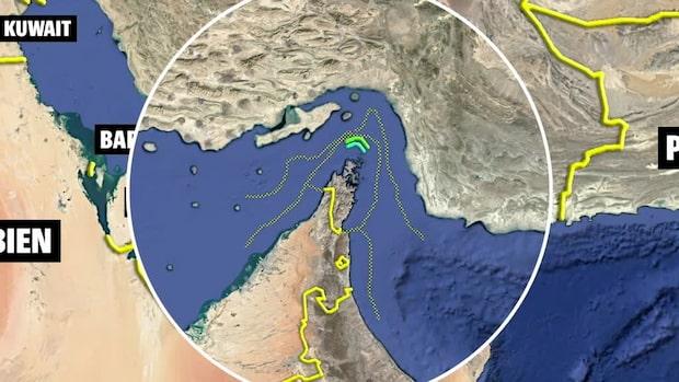 Världens viktigaste oljepassage - Hormuzsundet