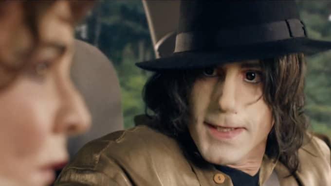 """I den nya dramaserien """"Urban myths"""" gestaltas popikonen Michael Jackson av skådespelaren Joseph Fiennes. Foto: Imdb"""