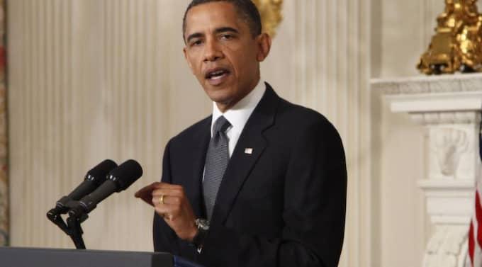 I natt (svensk tid) är det dags för Barack Obama att hålla tal på demokraternas konvent i Charlotte USA. Foto: Manuel Balce Ceneta