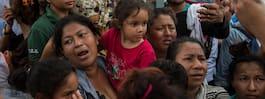 Beskedet: Mexiko öppnar  sin gräns för kvinnor och barn
