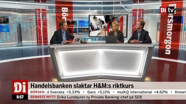Handelsbanken slaktar H&M:s riktkurs