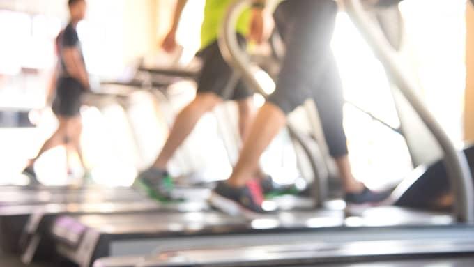 Men under träningspasset kände jag mig ändå illa till mods. Foto: Shutterstock