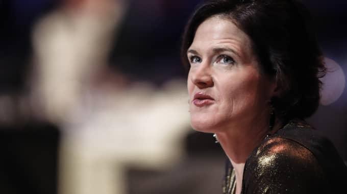 M-ledaren Anna Kinberg Batra har en del att fundera på. Foto: Andreas L Eriksson / BILDBYRÅN