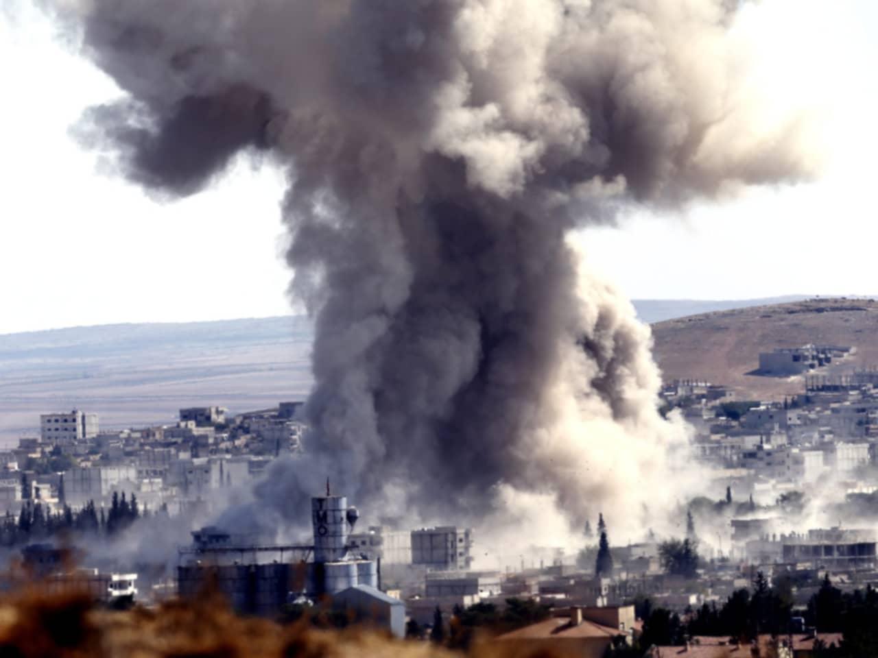 Fem skolbarn offer for bomber i syrien