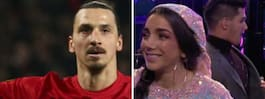 Ginas elaka skämt mot Zlatan Ibrahimovic