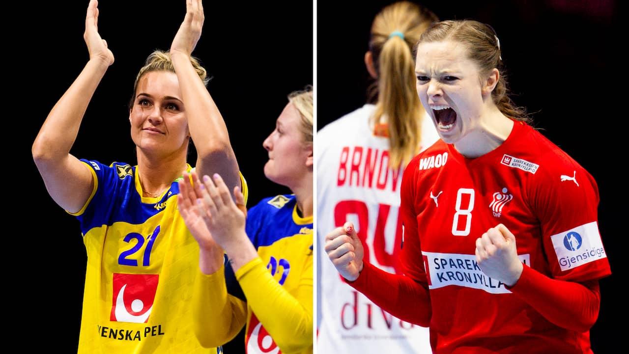 Handbolls-EM: Sveriges medaljdröm lever efter Danmarks seger