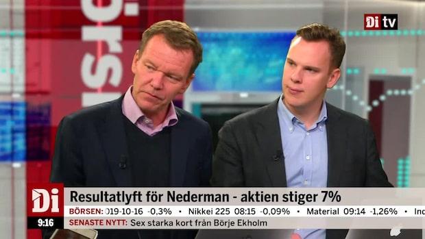 Resultatlyft för Nederman - aktien stiger 7 procent