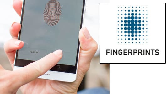 fingerprint aktier