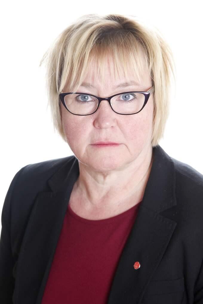 Anna Fransson, regionråd för Socialdemokraterna i Växjö. Foto: Pressbild/Linda Himsel