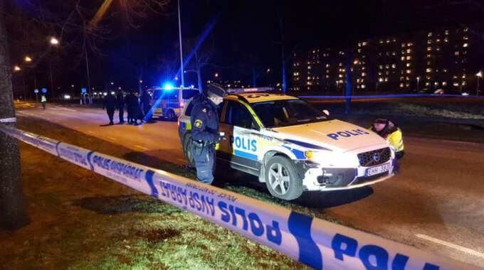 I början av året blev ett par i 50-årsåldern påkörda av en polisbil i tjänsteärende vid ett övergångsställe i Landskrona. Mannen dog och kvinnan skadades svårt.