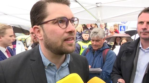 """Åkesson: """"Om inget dramatiskt händer stödjer vi misstroendet"""""""