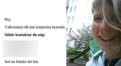 Här berättar Ragnhild Karlsson på sin blogg om hur hon och systern blev utslängda när de badade toppless på Fyrishov.