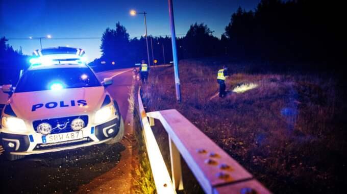 Tine Haugen 23, dotter till den norske stjärntränaren Rune Haugen, hotades under det brutala rånet mot galoppbanan Bro Park. Foto: Alex Ljungdahl